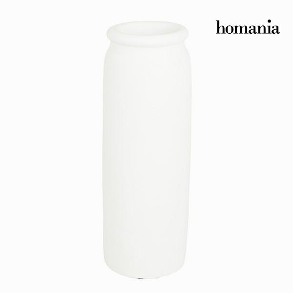 Jarrón Blanco - Colección Ellegance by Homania