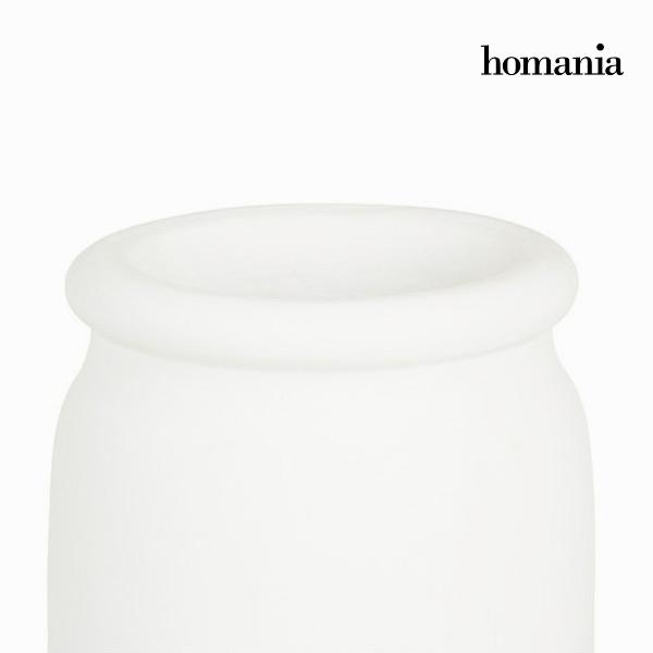 Jarrón Blanco - Colección Ellegance by Homania (1)