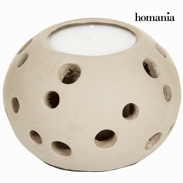 Portacandele Marrone - Autumn Collezione by Homania