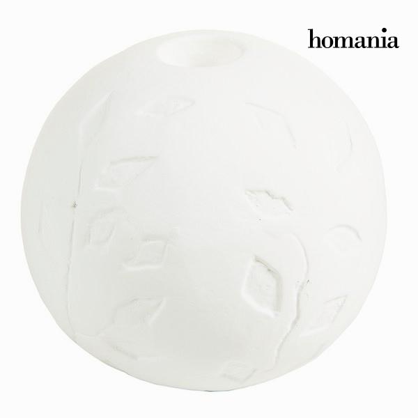 Candelabro Rotondo Bianco - Be Yourself Collezione by Homania