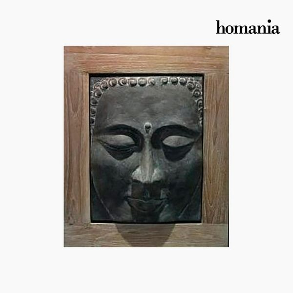 Cuadro Buda Gris (49 x 60 cm) by Homania