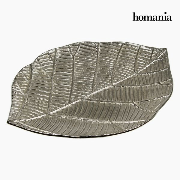 Centrotavola Frunză Argentato - Jungle Collezione by Homania