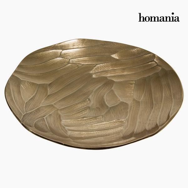 Centrotavola Circular Șampanie - New York Collezione by Homania