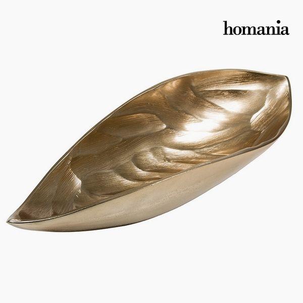 Centrotavola Frunză Șampanie - New York Collezione by Homania