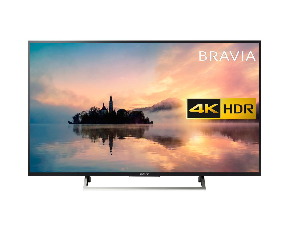 "Smart TV Sony KD49XE7096 49"" Ultra HD 4K LED USB x 3 HDR WIFI Negro"