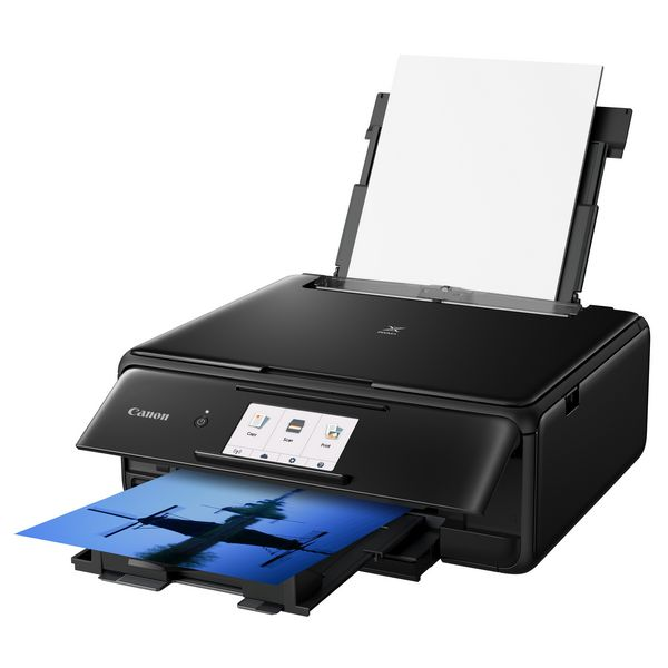 Stampante Multifunzione Canon FEMMIN0237 2230C006 Pixma TS8150 Dúplex WIFI Neagră
