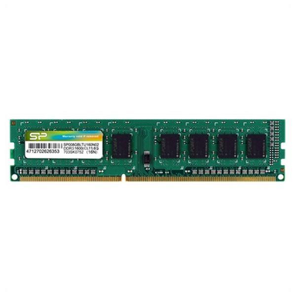 Memoria RAM Silicon Power SP008GBLTU160N02 DDR3 240-pin DIMM 8 GB 1600 Mhz