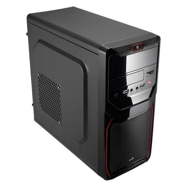 Caja Micro ATX Aerocool ICACMM0186 QS183ADRD USB 3.0 Negro Rojo