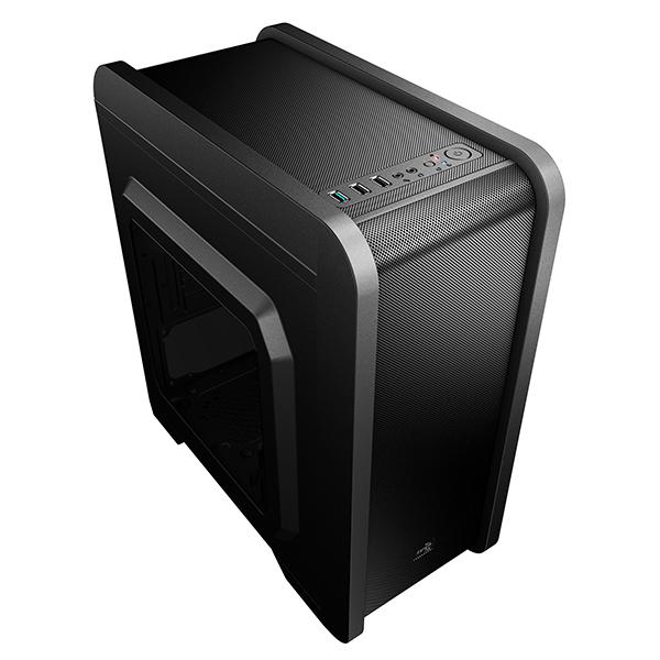 Ohišje Mikro ATX Aerocool ICACMM0180 QS240 USB 3.0 Črna
