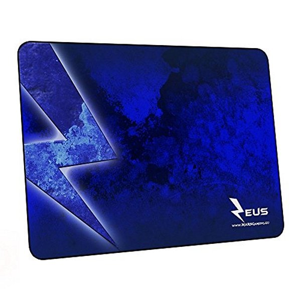 Tappeto Gaming Tacens MMPZE1 MMPZE1 Nero Azzurro