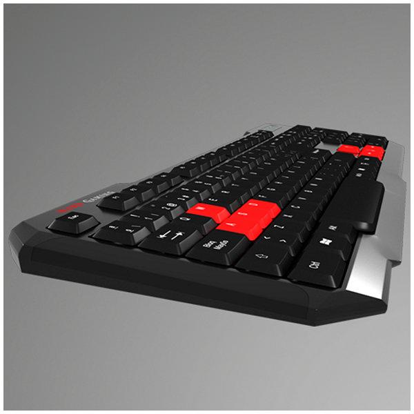Tipkovnica Gaming Tacens MAK0 USB Črna Rdeča