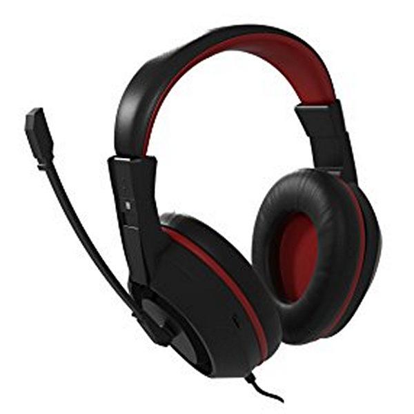 Slušalke z Mikrofonom Gaming Tacens MAH0+ 32Ω 15mW Ultra Bass Črna Rdeča