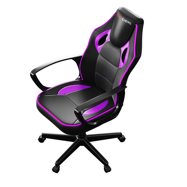 Sedia Gaming Tacens MGC0BPK Metallo PVC Nero Rosa