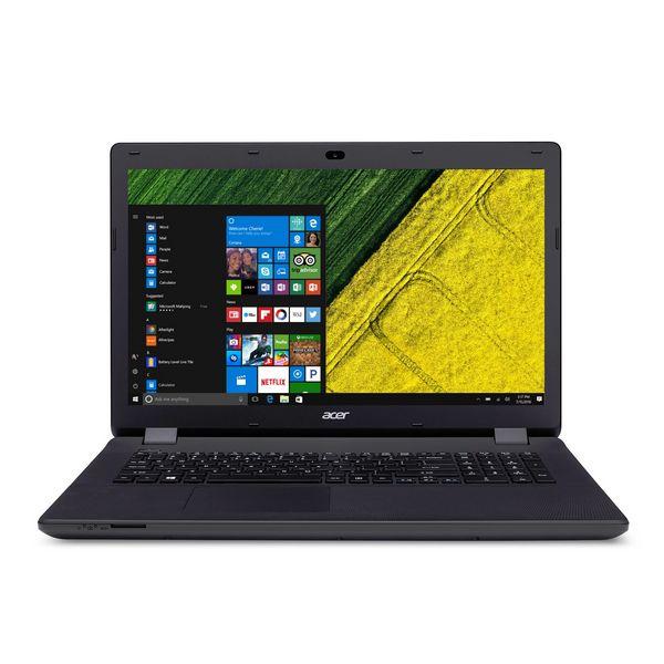 "Portátil Acer ES17 NX.MZSEB.005 17,3"" Intel Celeron N3050 4 GB RAM 1 TB Windows 10 Negro"