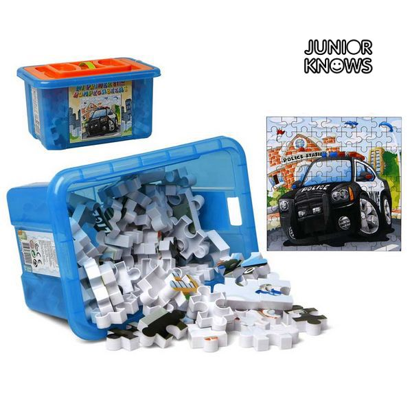 Puzzle con Scatola Contenitrice Junior Knows 9902