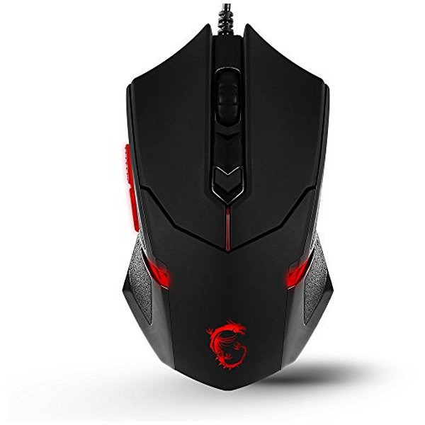 Mouse Gaming MSI DS B1 1600 dpi Nero
