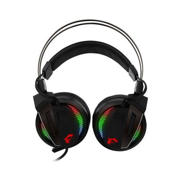 Auricolari con Microfono Gaming MSI S37-2100970-Y86 USB LED Nero