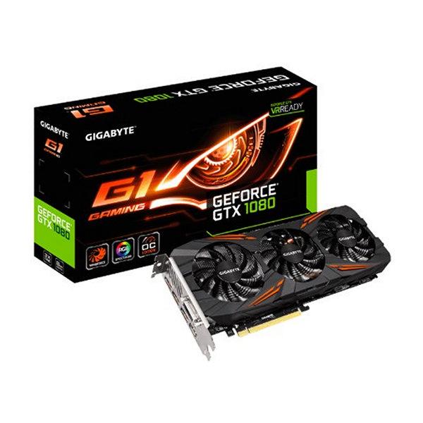 Gigabyte VGA NVIDIA GTX 1080 GAMING 8GB DDR5
