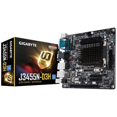 Scheda Madre con CPU Integrata Gigabyte GA-J3455N-D3H Mini-ITX Intel® Quad-Core Celeron® J345