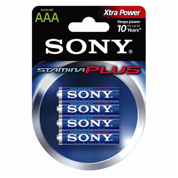 Pila Alcalina Sony AM4L-B4D AM4L-B4D 1,5 V AAA (4 pcs) Azul Verde