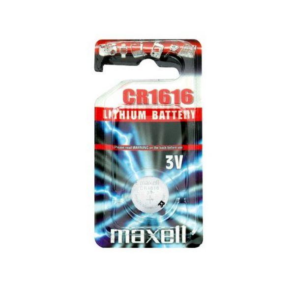 Pila de Botón de Litio Maxell MXBCR1616 CR1616 3V