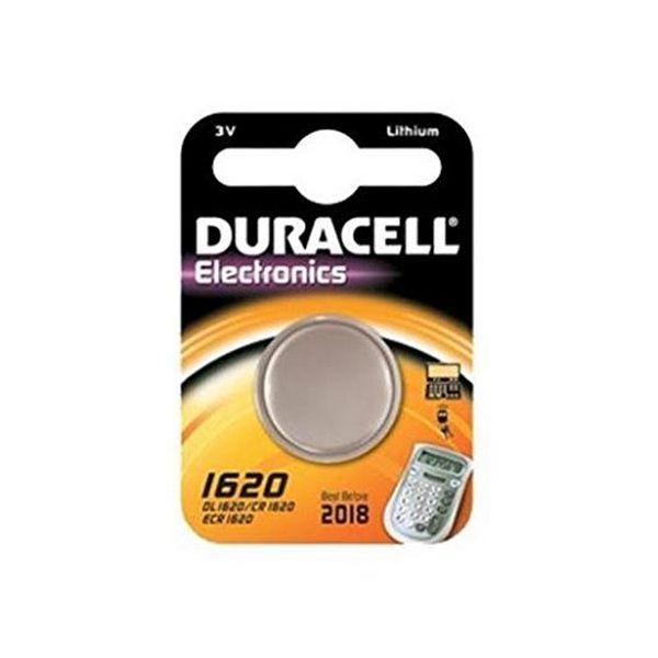Batteria a Bottone a Litio DURACELL DRB1620 CR1620 3V