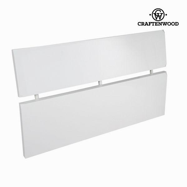 Cabecero blanco lacado - Colección Pure White by Craftenwood