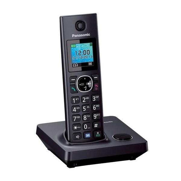 Telefono Senza Fili Panasonic KX-TG7851SPB Nero
