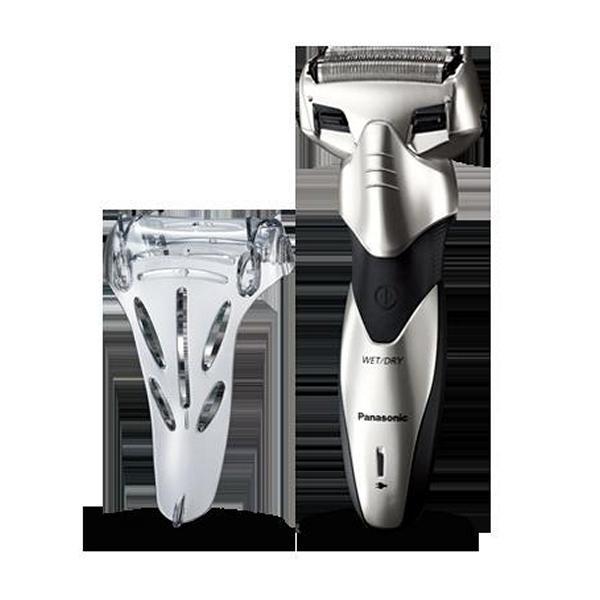 Afeitadora Eléctrica Panasonic 222829 240 V Wet&Dry Plata Negro