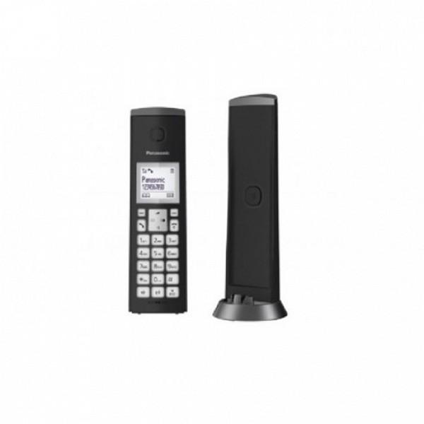 Telefono Senza Fili Panasonic KX-TGK210SPB DECT Nero
