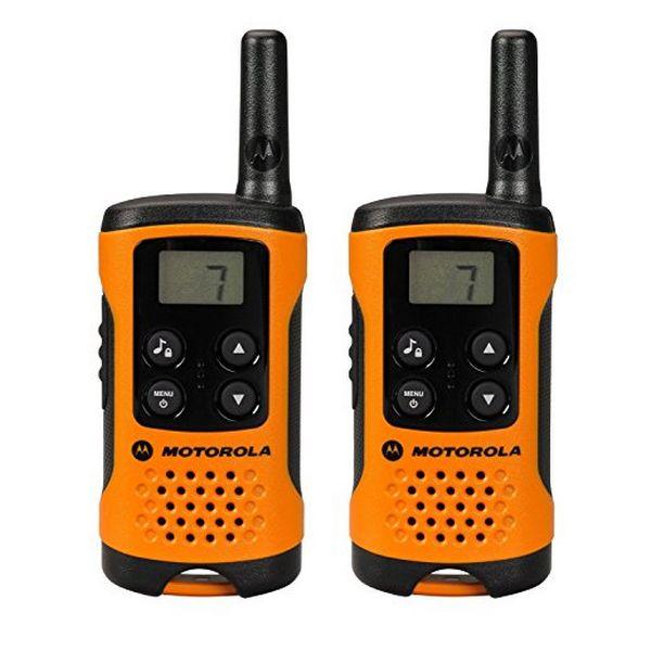 Walkie-Talkie Motorola TLKR T41 4 km LCD 16 h AAA Nero Arancio