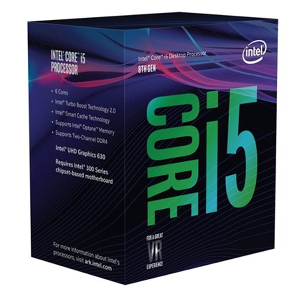 Processore Intel Intel� Core� i5-8400 Processor BX80684I58400 Intel Core i5 8400 2,8 Ghz 9 MB LGA 1151 BOX