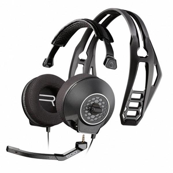 Auriculares con Micrófono Gaming Plantronics 222558 Bluetooth 20Hz 24 bit Negro