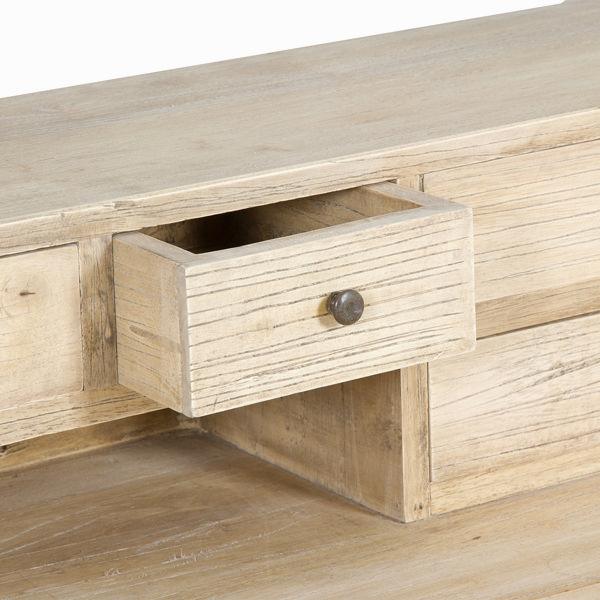 Mesa escritorio - Colección Pure Life by Craftenwood (1)