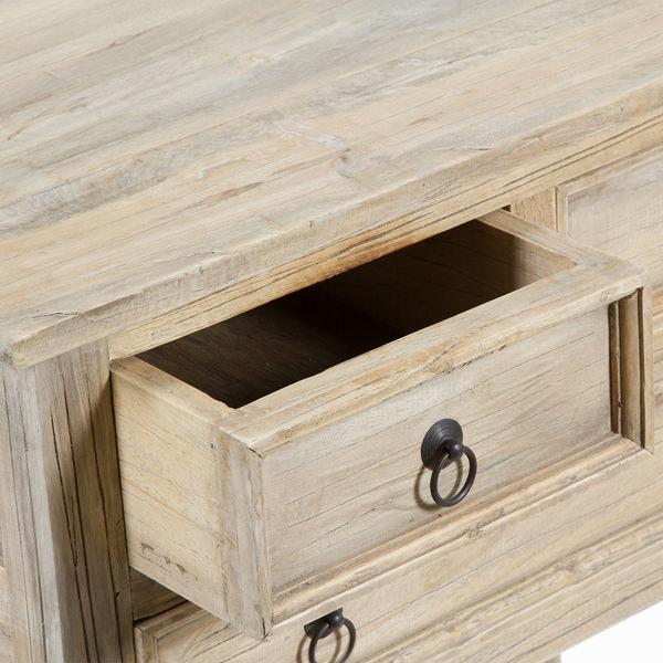 Mesa con tres cajones - Colección Pure Life by Craftenwood (2)