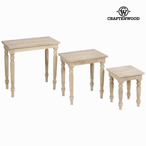 Set tre tavolini - Pure Life Collezione by Craftenwood