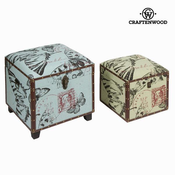 Set dve skrinji - Printed Zbirka by Craften Wood