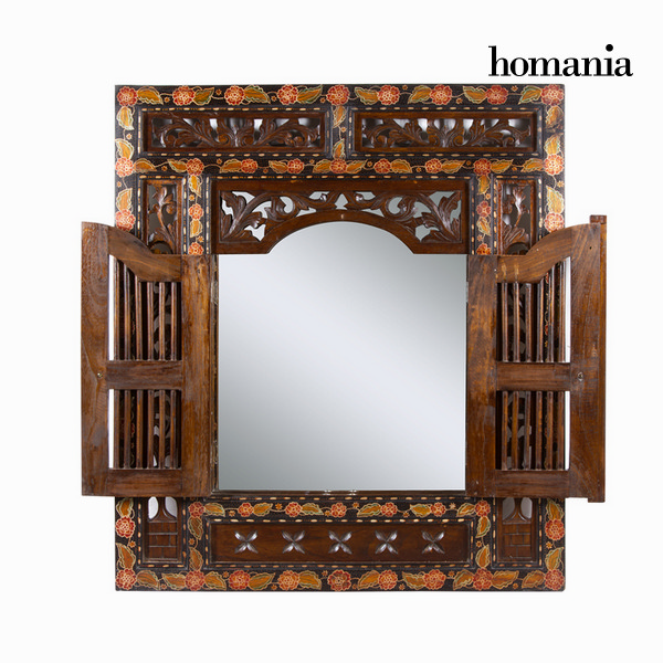 Specchio con porte batik - Paradise Collezione by Homania