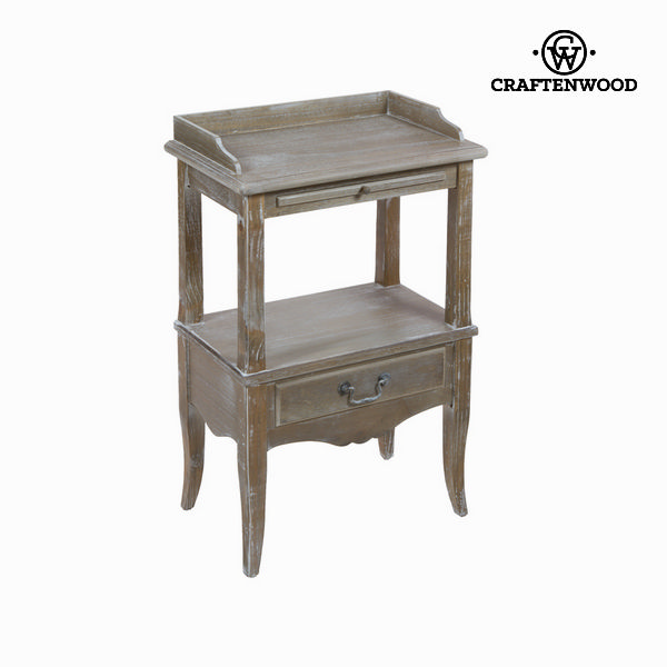 Mesa con estante - Colección Vintage by Craftenwood