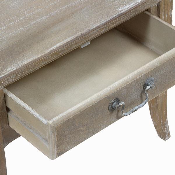 Mesa con estante - Colección Vintage by Craftenwood (1)