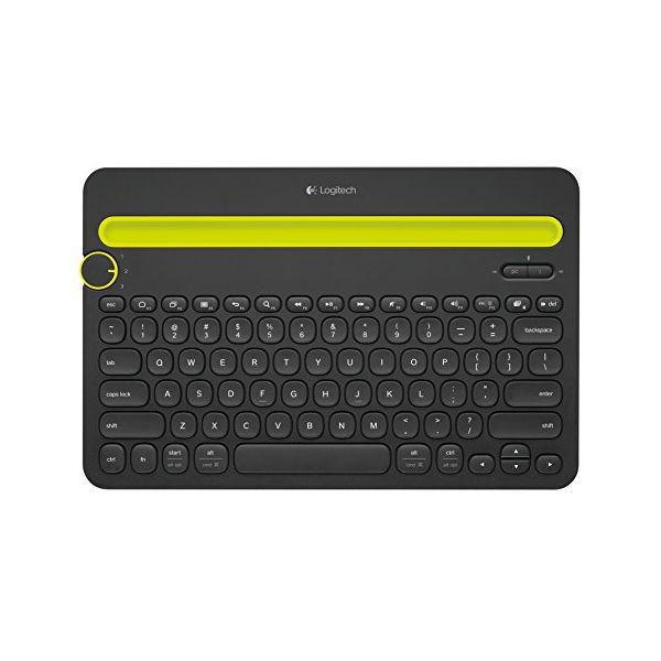 Tastiera Bluetooth Logitech K480 Nero