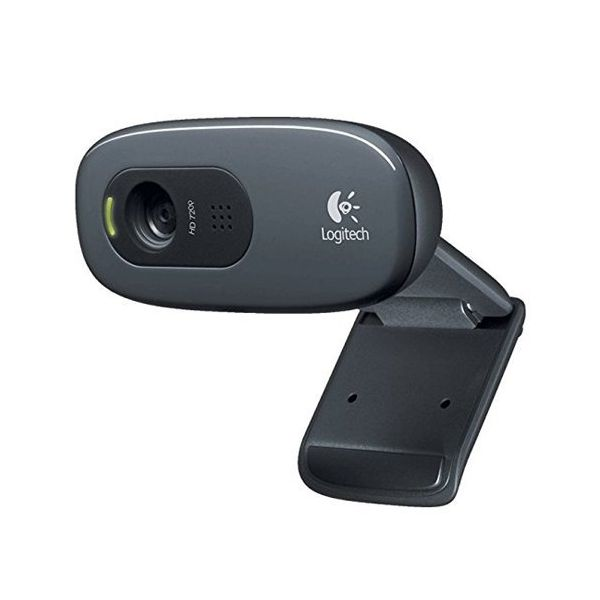 Webcam Logitech C270 HD 720p 3 Mpx Grigio