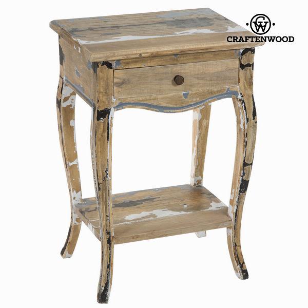 Tavolino 1 cassetto decapato - Poetic Collezione by Craftenwood