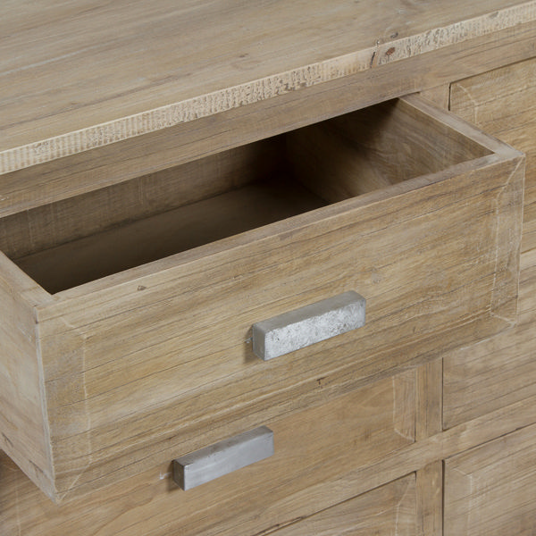 Cómoda madera envejecida - Colección Pure Life by Craftenwood (1)