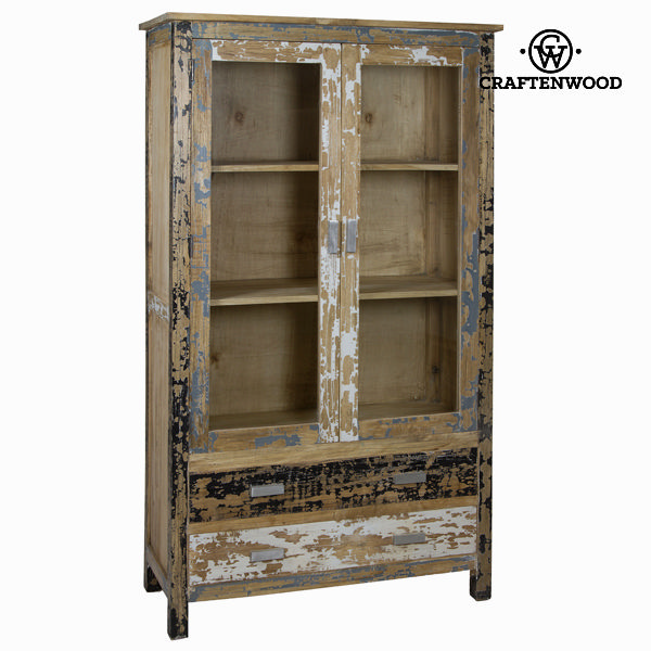 Vložena lesena vitrina s 2 vrati - Poetic Zbirka by Craften Wood