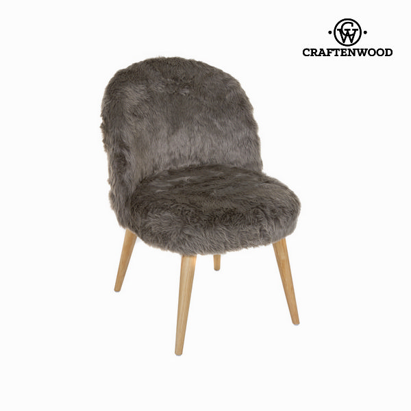 Sillón Curvo Marrón by Craftenwood