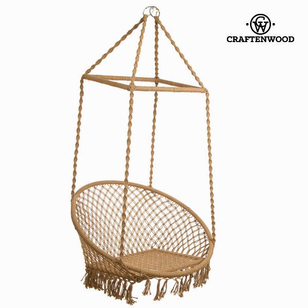 Okrogla viseča mreža by Craften Wood