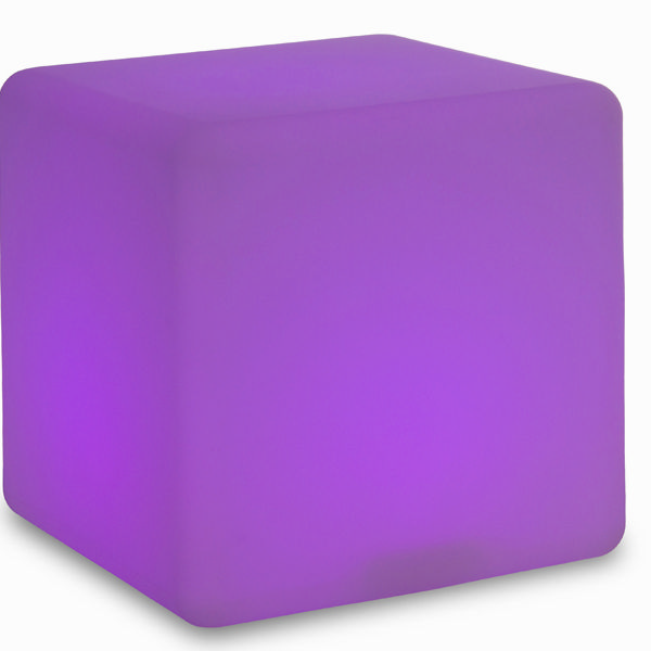 Cubo con luz para exterior by Homania (3)