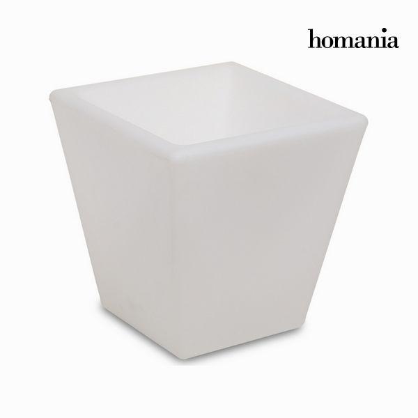 Macetero con luz para exterior by Homania