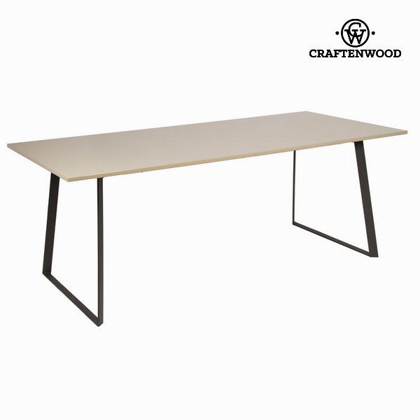 Tavolo sala da pranzo liv moka grigio - Modern Collezione by Craftenwood